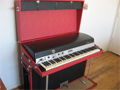 Red Rhodes Piano